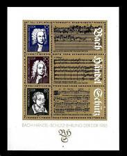 GERMANY - GERMANIA - DDR - BF - 1985 - 300° nascita J.S. Bach e G.F. Handel