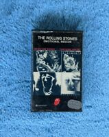 THE ROLLING STONES Emotional Rescue Cassette Tape 1980 Rock CS 16015