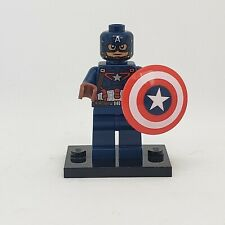 authentic LEGO minifigure Captain America sh177 Marvel Avengers Ultron shield