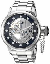 Invicta Russian Diver Ghost Bridge 21 Jewels Silver Steel Men's Watch 26267 SD