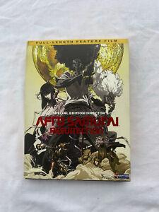 Afro Samurai: Resurrection 2-Disc Special Edition Director's Cut DVD (CIB!)