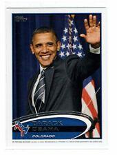 Barack Obama 2012 Topps Update Presidential Predictor #PPO-6