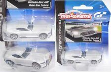 Majorette 212054050 Mercedes-Benz AMG Vision Gran Turismo mit Sammlerflyer 1:63