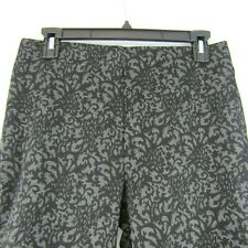 Zoe by Michael Phillips Ltd Charcoal Gray Black Comfort Stretch Pants Size M