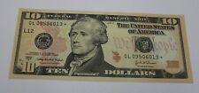 2004 A Ten Dollar Star Note San Francisco $10 Crisp Uncirculated from BEP Pack