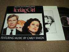 "@ BOF WORKING GIRL 33 TOURS LP 12"" GERMANY CARLY SIMON CHRIS DE BURGH"