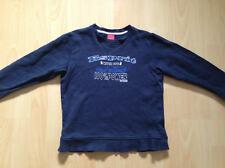 Esprit Gr. XS 128/134 Pullover mit Auto Sweatshirt blau