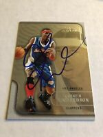 Quentin Richardson Signed 2003/04 Flair Los Angeles Clippers Card # 54