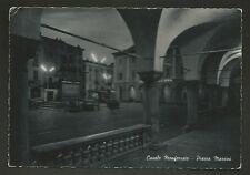 AD9019 Alessandria - Provincia - Casale Monferrato - Piazza Mazzini in penombra