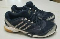 NEW Adidas Women's Opticourt VB 8.5 W-W Size 7 Volleyball Shoes in Navy & Silver