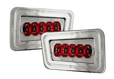 New Crystal Clear Rear Bumper Light PAIR FOR 2003 2004 2005 2006-2008 Hummer H2
