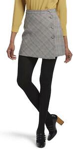 HUE Women's Brushed Sweater Tights sz M / L - Medium / Large - Pantyhose Black