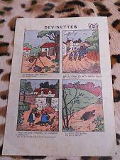 """"""" Devinettes """" - Pub dentifrice antiseptique DENTOL - Bellenand & Fils 1936"""