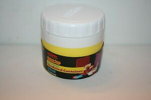 Vintage 1991 NEW Thermos 1155 Insulated Lunch Snak Jar 8oz Food/Soup YELLOW