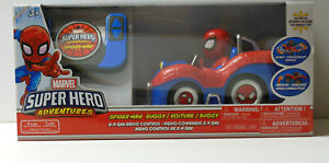 MARVEL Super Hero Adventures SPIDER-MAN RC Remote Control Buggy Car NEW Disney