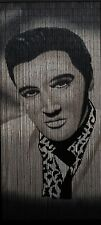 Bamboo Beaded Curtain Hand Painted-Elvis