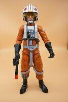 """Star Wars Talking Luke Skywalker X-wing Pilot 13"""" Action Figure w/ Helmet & Gun"""