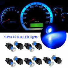 10X Blue PC74 T5 LED Twist Socket Instrument Panel Cluster Plug Dash Bulb Light