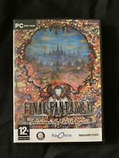 Final Fantasy XI Treasures Of Aht Urhgan For PC With Expansion Pack