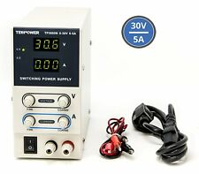 Tekpower TP3005N Regulated DC Variable Power Supply 0 30v at 5a String Lights