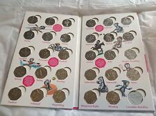 ALL 29 Coins set in  Royal Mint London 2012 Olympics Sports Album Folder