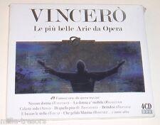 Coffret 4 CD : VINCERO : Les plus beaux airs de l'Opéra  Aida - Tosca - Traviata