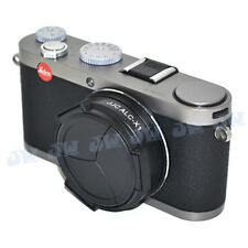 JJC Self-Retaining Automatic Auto Open Close Lens Cap For LEICA X1 X2 Camera