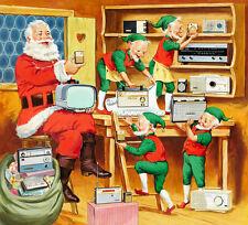 "Vintage Sony Electronics Ad Illustration 11 x 11""  Photo Print"