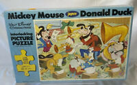 Mickey Mouse & Donald Duck Jamar Puzzle The Gang In Concert Vintage New Sealed