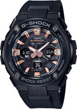 Casio G-Shock GSTS310BDD-1A G-MS Black Diamond Dial Womens Digi-Ana Watch