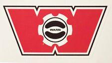 Warn Industries Winch Hub Decal / Sticker