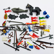 LEGO Lotto Stock Accessori per Minifigures Castello Castle Pirati Omini KG