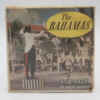 Sawyer's Vintage B027 The Bahamas View-master 3 reels Packet Set Sealed