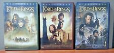 Lord of the Rings Trilogy  ( 6 Disc DVD set ) Wide Screen   LIKE NEW