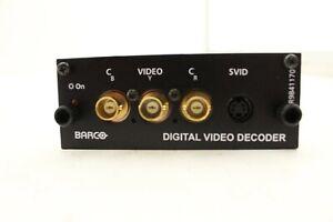 Barco digital video decoder  R9841170