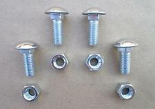 OLD SCHOOL STAINLESS STEEL BUMPER BOLTS/NUTS! FORD 1950's & UP! 2425Z