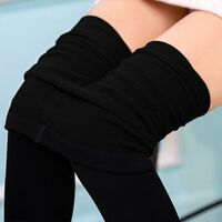 New Women Winter Fall Thick Warm Fleece lined Skinny Slim Leggings Stretch Pants
