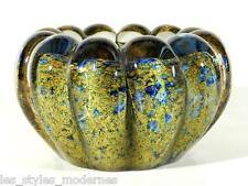 GRALGLAS Vase / Schale ° Argentum Glas Unikat ° Design Karl Wiedmann