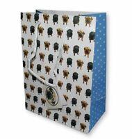 Sac Cadeau Carlin - Chien - Emballage Cadeau - Sachet - Lot de 2