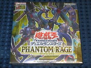 NEW YuGiOh! OCG Booster Phantom Rage BOX w/ 1st Print Bonus Pack KONAMI JAPAN FS