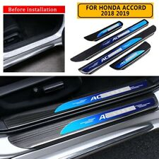 For Honda Accord 2018-2020 4PC Stainless Steel Outer Door Sill Scuff Plate Guard