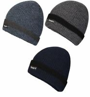 Mens Pro Climate Fishermans Knit Beanie Hat 5851 with Genuine Thinsulate Lining