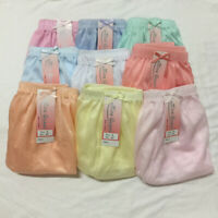 Women underwear vintage style nylon lacy panties soft briefs size L 3 pcs 6 pcs