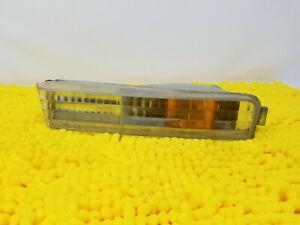 Left Bumper Light 1990-1991 Honda Accord turn signal drivers lens cb7 parking