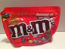 M&M's Peanut Butter Filling Candy 9.60 oz 272.2 g New Resealable Zipper Pouch