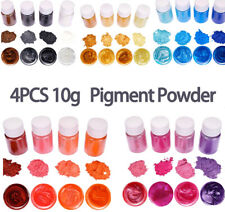 Mica Powder - Epoxy Resin Dye Ultimate 4 Colors Pigment Powder Set 10g/1PCS*4PCS