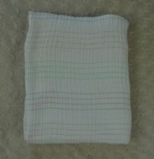 aden + anais Stripes Baby Blanket White Pink Gray Green Cotton Muslin Swaddle