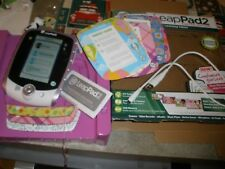 LeapFrog LeapPad 2 Custom Edition Learning Tablet Pink Tested & Works