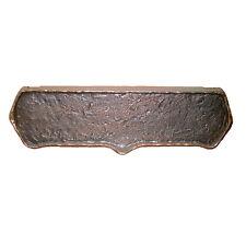 MEKO Briefeinwurf Briefschlitz Einwurfklappe Bronze Beschlag 4805 für Durchwürfe