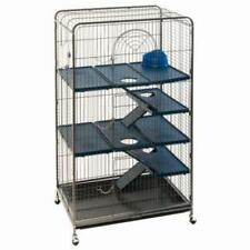 Cage Small Pet Ferret Squirrel Chinchilla Three Large Doors Antique Appearance